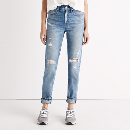 vintage jeans the perfect vintage jean in chet wash: distressed edition idniytn