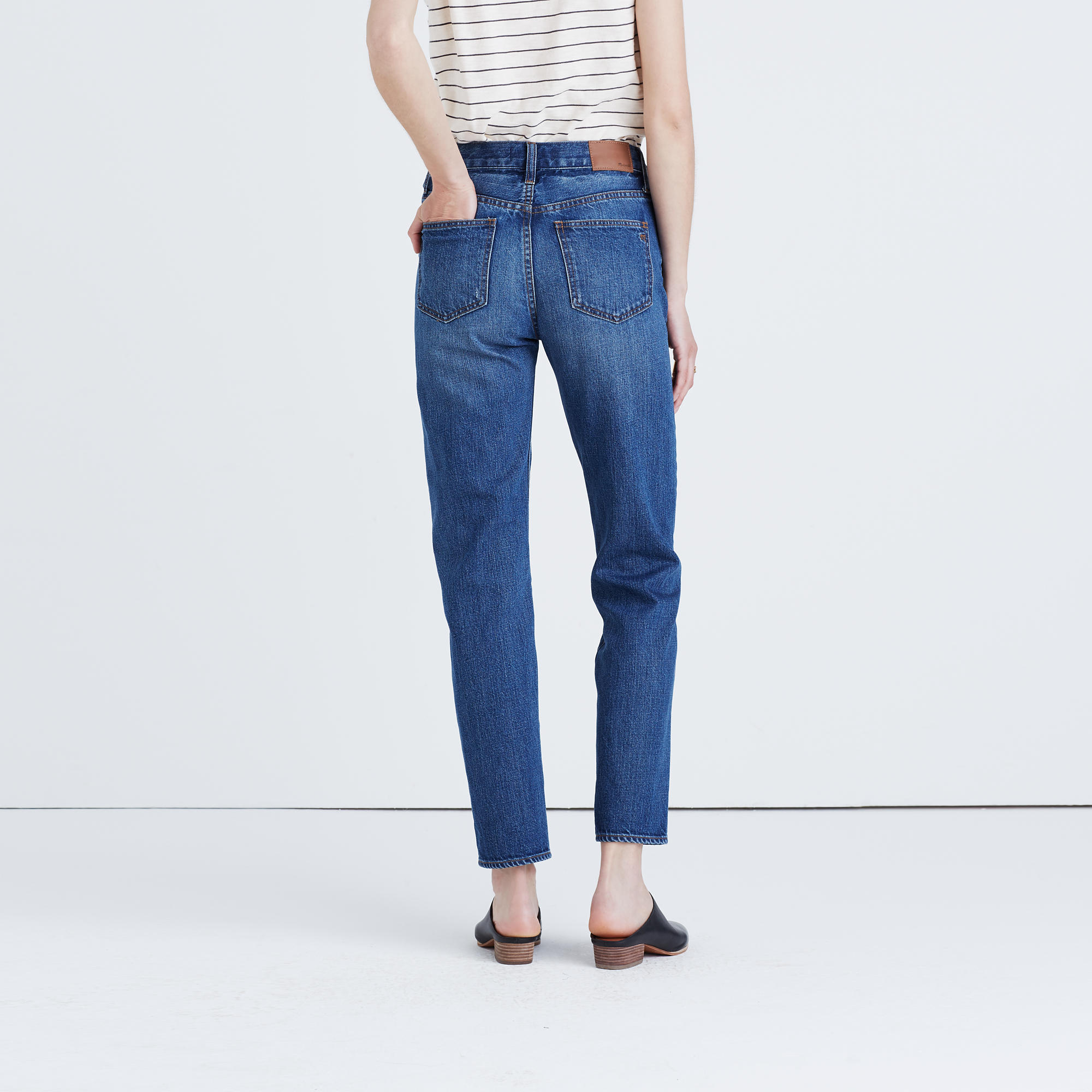 vintage jeans the perfect vintage jean : straight-leg u0026 perfect summer jeans | madewell qiuhlwr