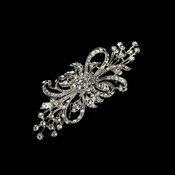wedding brooches vintage silver clear plated clear crystal bridal brooch 3268 vlxbujm