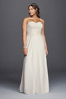 wedding dresses for the beach long sheath beach wedding dress - davidu0027s bridal collection nrrqkab