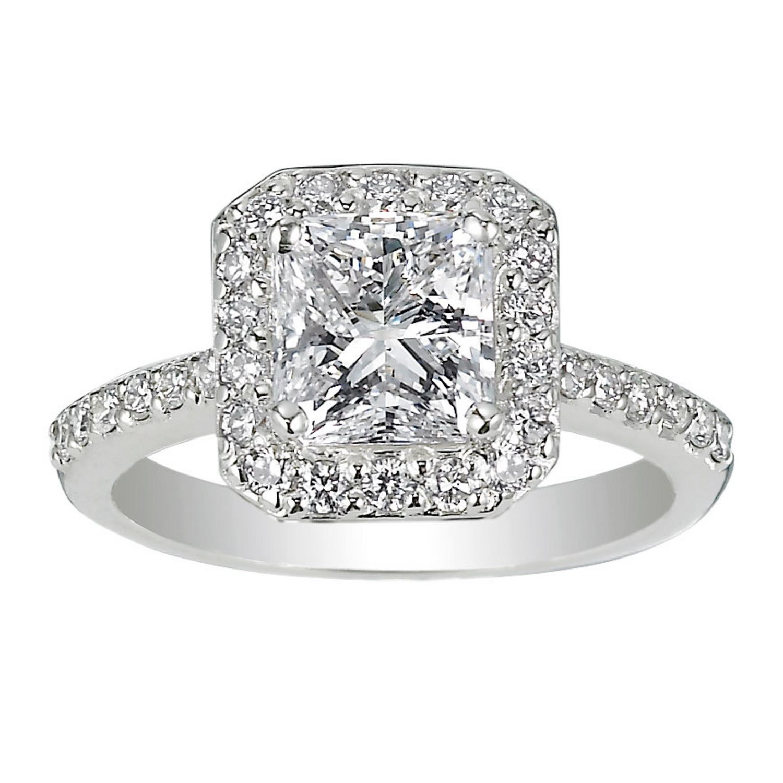 wedding engagement rings 62 diamond engagement rings under $5,000 | glamour vndgwua