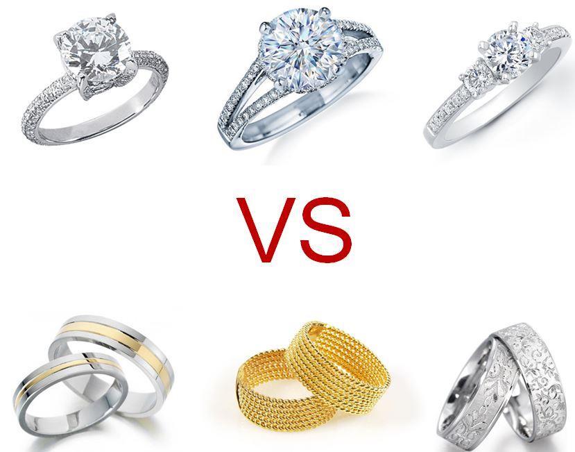 wedding engagement rings engagement ring vs wedding ring adnihvl