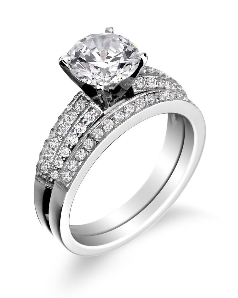 wedding engagement rings engagement ring with wedding band uvhxzgf