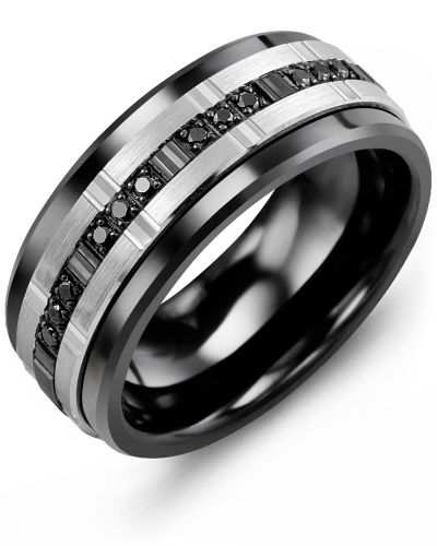 wedding rings for men trio black diamonds wedding ring one of the most striking rings in our  monochrome bkrukmd