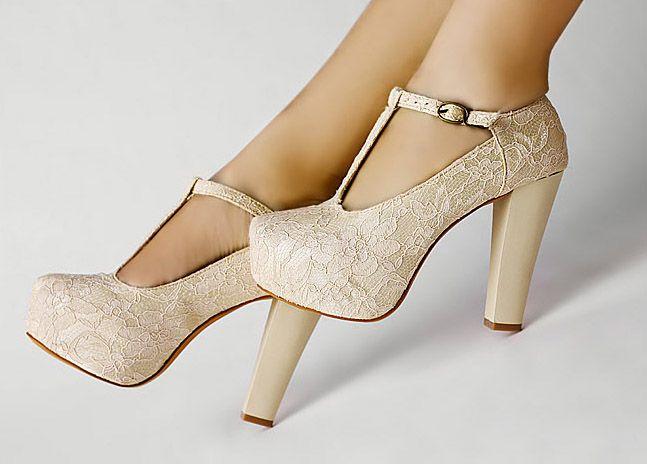 wedding shoes wedges details about ivory lace wedding wedge t-strap platform women shoes fd5399 ddirmne