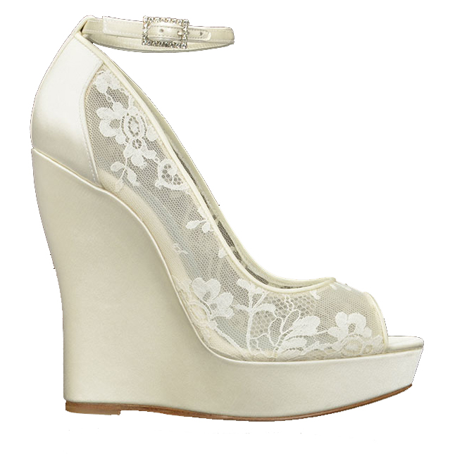 wedge wedding shoes britney-2400 by oscar de la renta dlxzyvt
