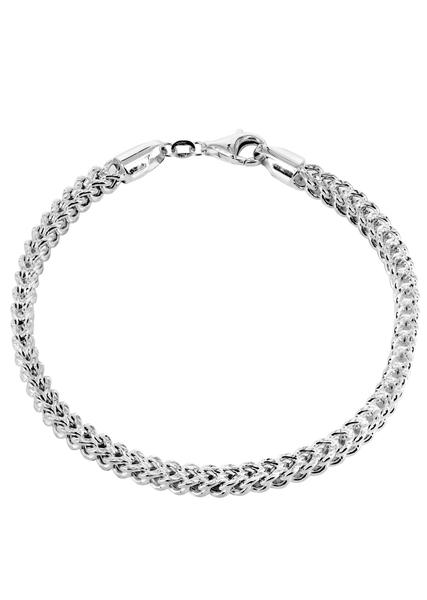 white gold bracelets hollow mens pave franco bracelet 10k white gold - frostnyc roacuxm