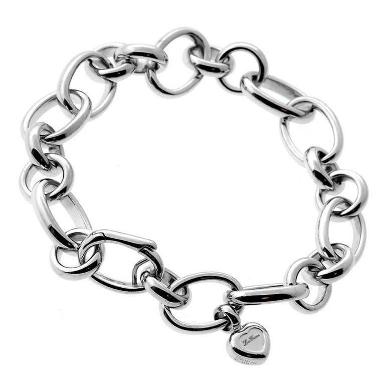 white gold charm bracelet chopard les chaines gold charm bracelet 1 qrdgoxs