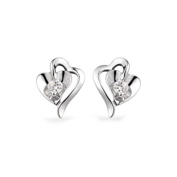 white gold diamond earrings 1 carat diamond earrings xoysyan
