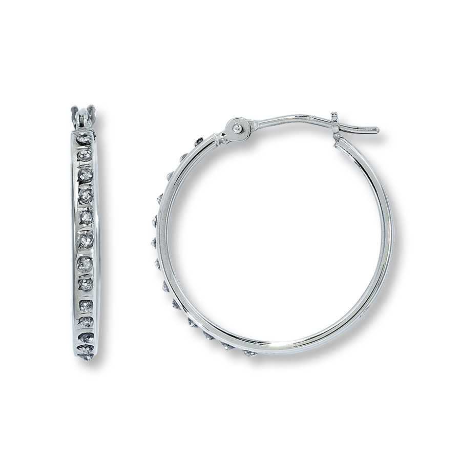 white gold hoop earrings hover to zoom ehsbost