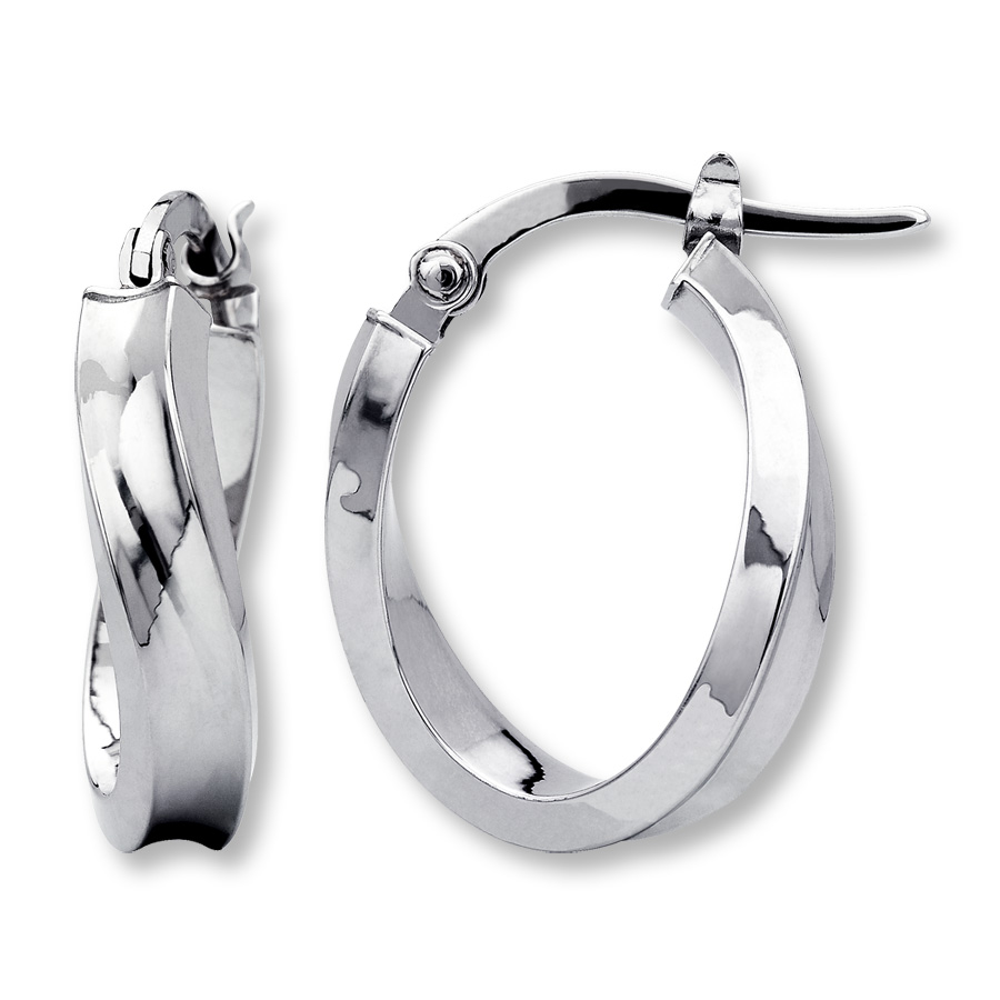 white gold hoop earrings hover to zoom ozgttwa
