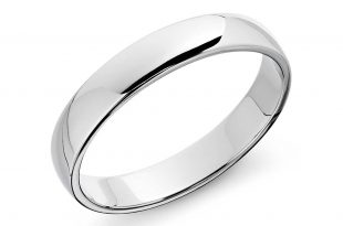 white gold rings classic wedding ring in 14k white gold (5mm) ewsjfee