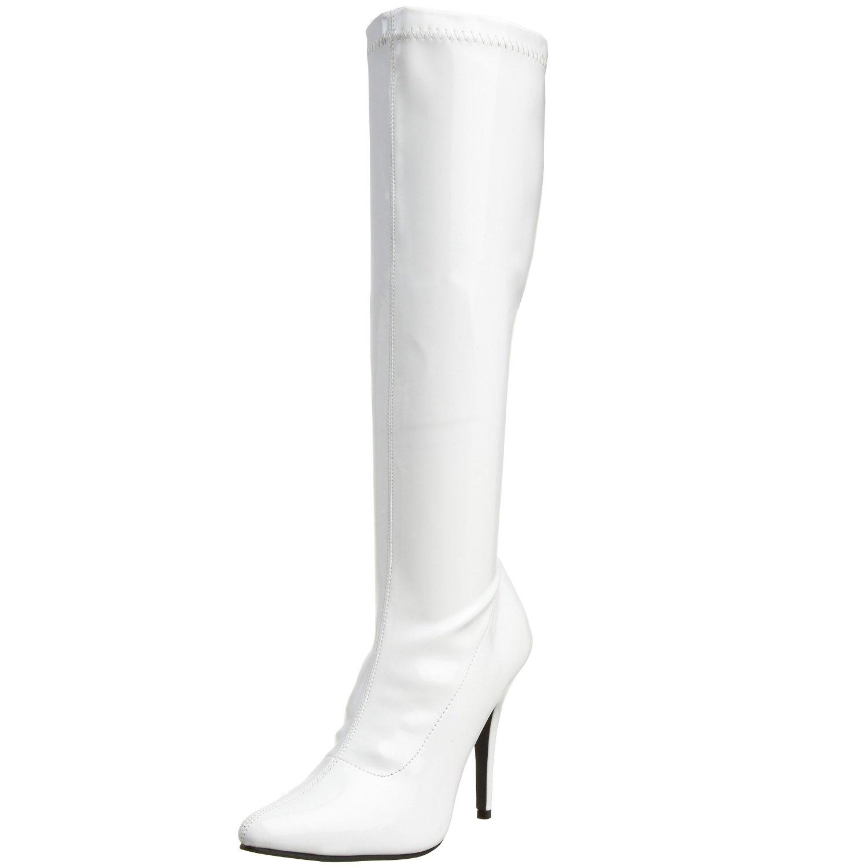 white knee high boots womenu0027s knee high boots teuqxoy