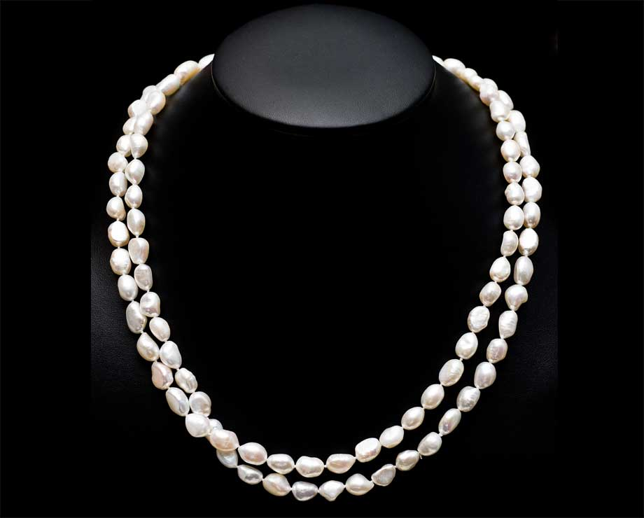 white necklace white 50 inch endless pearl necklace hxebqus
