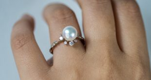 winter pearl ring. kataoka ywuneba