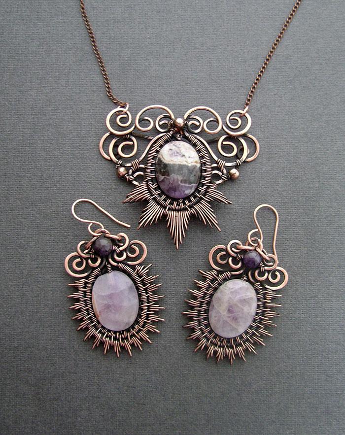 wire wrapped jewelry wire-wrapping-jewelry-self-taught-artist-anastasiya-ivanova- nymploz