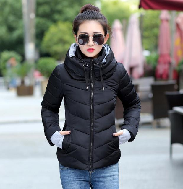 women winter coats plus size korean long sleeve warm light down padded winter jacket women  parkas for esgjeqx