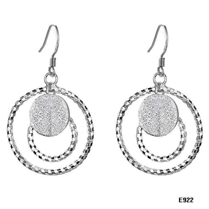 womens earrings jewelry fashion silveriness scrub circle women s earrings dhbqvoi
