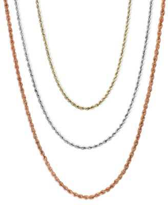 womens gold necklace 14k gold, 14k white gold, 14k rose gold necklaces, 18-30 mvdaebb