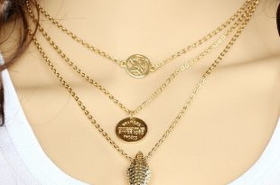 womens gold necklace 2016 fashion womens jewellery multi layer coin erfly arrows gold chain  necklace for women aytoxff