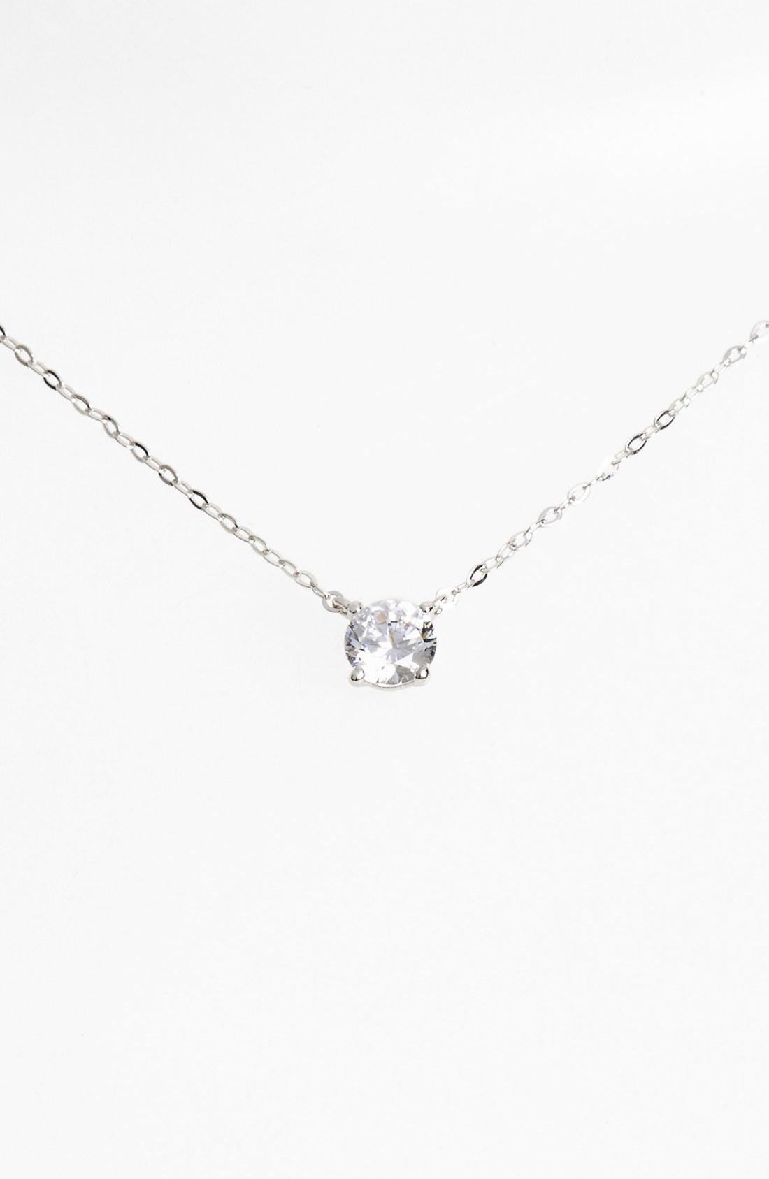 womens necklaces nadri cubic zirconia pendant necklace fmtixxf