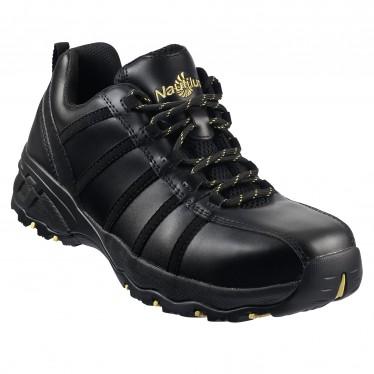 work shoes nautilus menu0027s composite toe leather work shoe - n1706 drknzhr