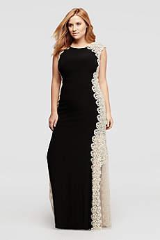 xscape dresses long a-line tank formal dresses dress - xscape sohjtdv