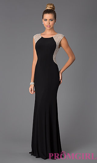xscape dresses long sexy black cheap evening dress for prom zoqzxlw