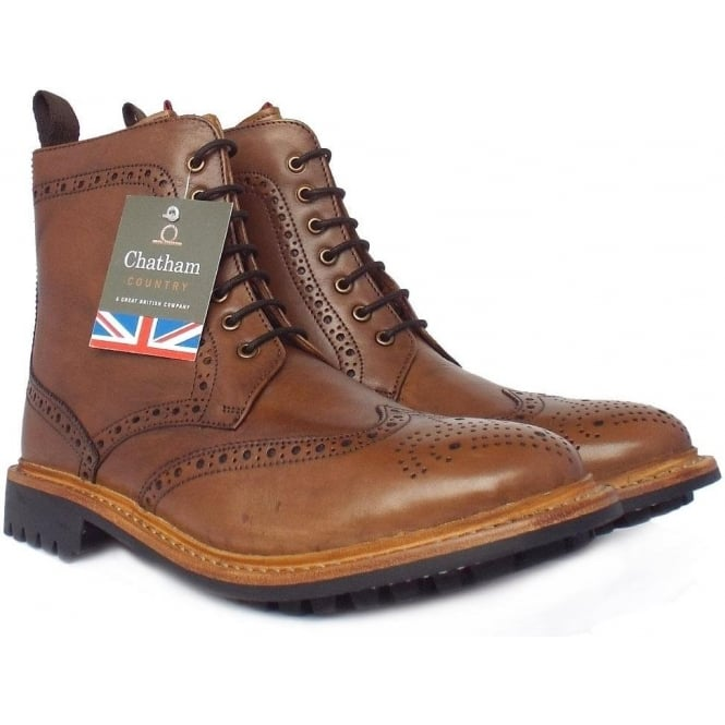 york menu0026#039;s high ankle brogue boots in ... mwvldbo