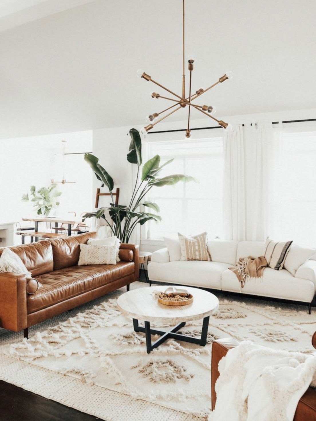 Cozy boho living room ideas and several modern decorating themes to know about 3