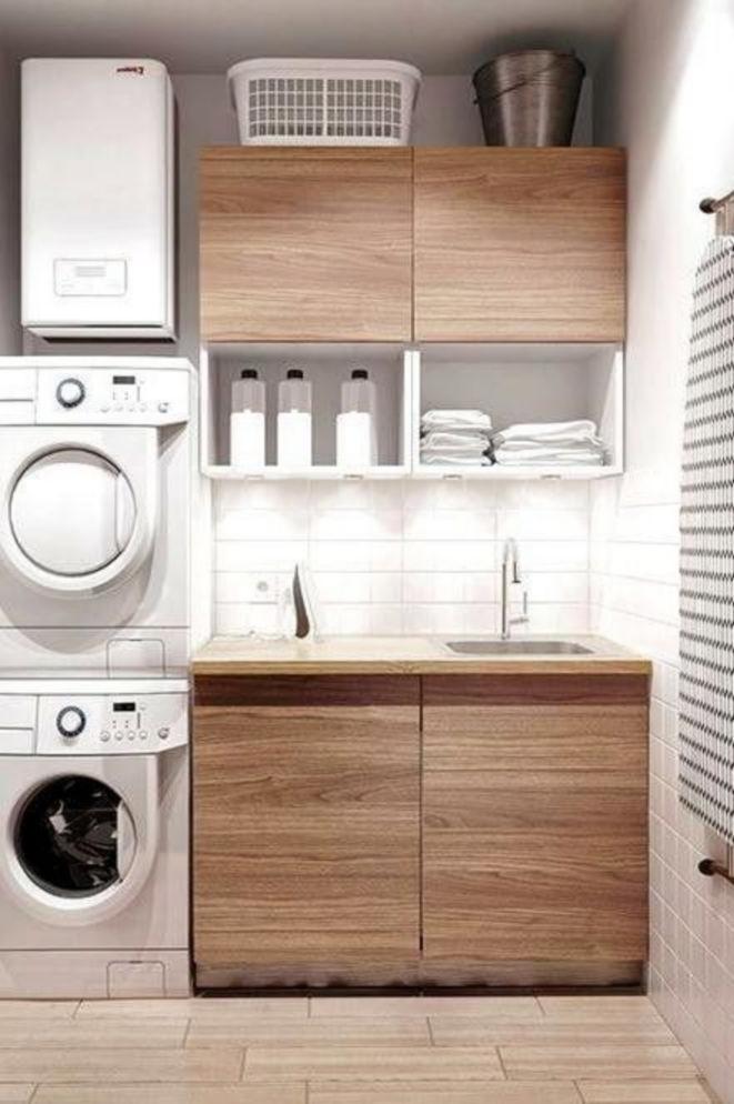 Helpful Ideas for Trendy Laundry Room Decor 45