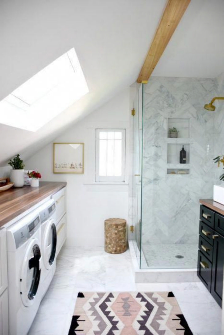 Trendy upstairs laundry rooms will or will not keep these interior design features 30