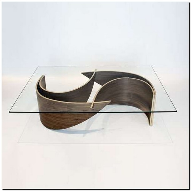 40+ stunning metal coffee table made of wood 38