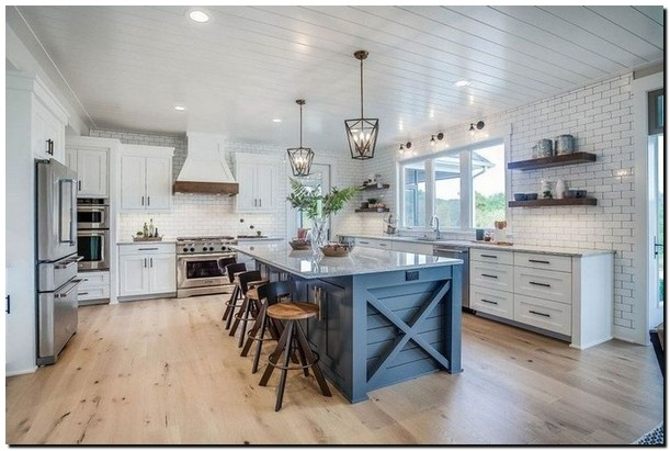 Over 30 best ideas for furnishing and renovating country kitchens 3