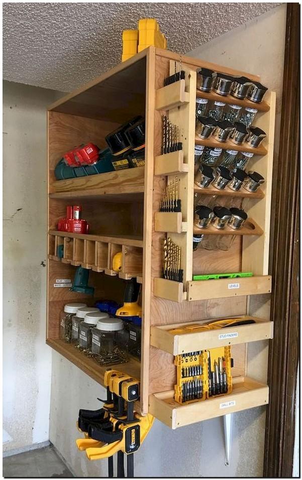 30 inspiring DIY design ideas for garage storage on a budget