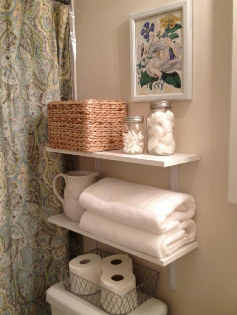 New bathroom shelving ideas for remodeling your perfect bathroom 10