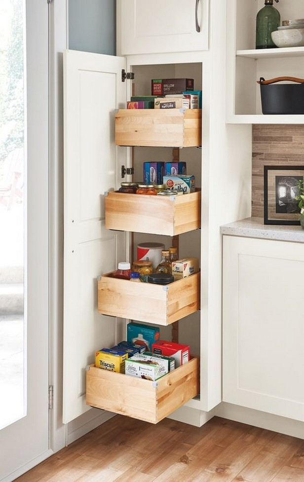 32 clever ideas for organizing DIY kitchen cabinets 1