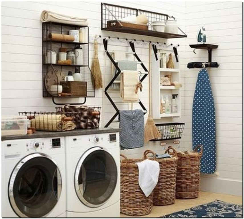 33 inspiring laundry room ideas for small spaces 2