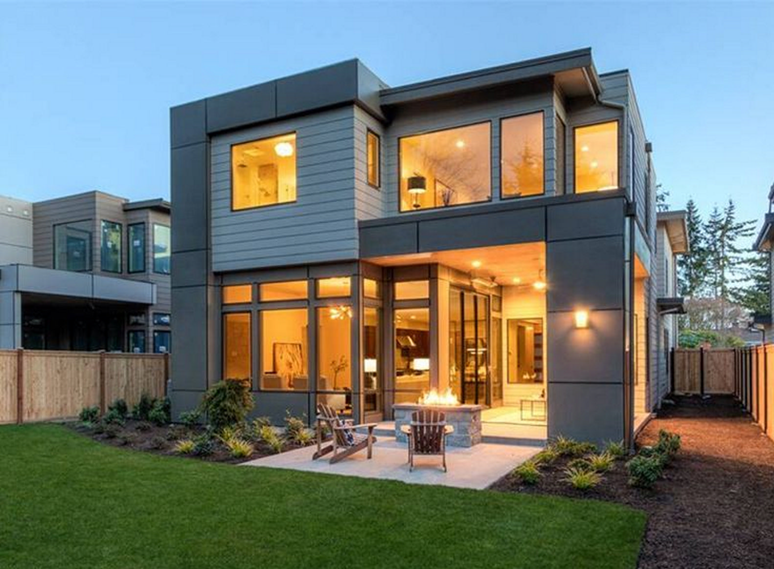 Small modern house design luxury, cozy and artistic living with fashion 10