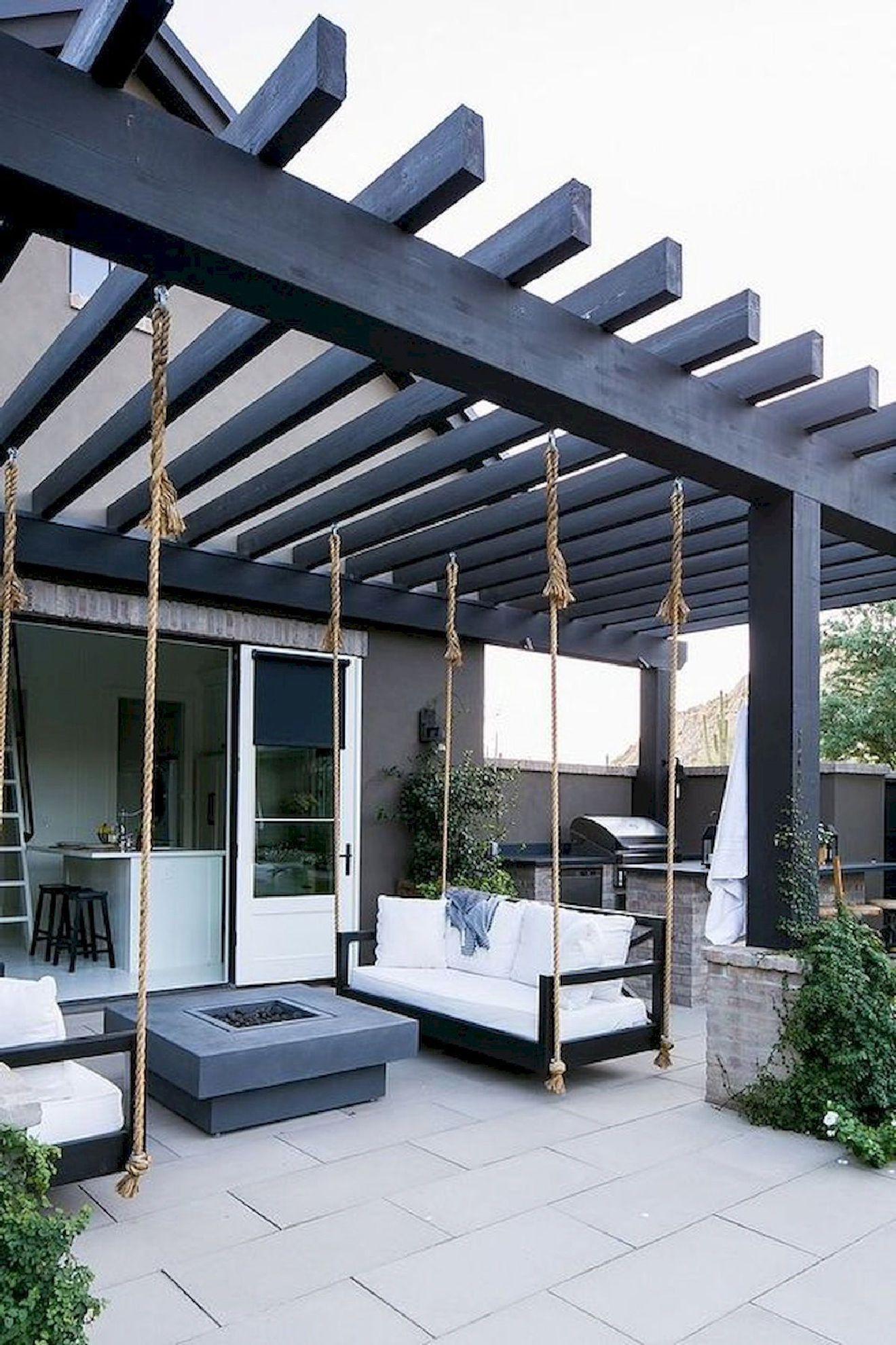 35 great pergola ideas with fireplace 35