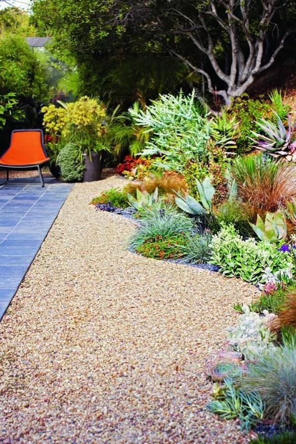 35 attractive desert landscape front yard cactus ideas 3