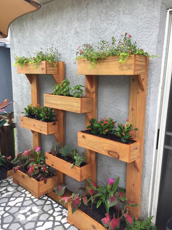 35 small garden ideas for an inspiring and charming outdoor area 13
