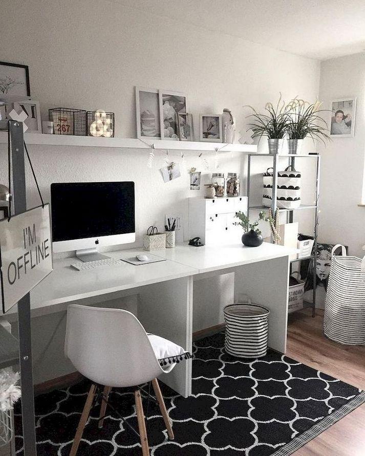 36 Pretty Ideas For Designing Desk Decorations In 2020 1