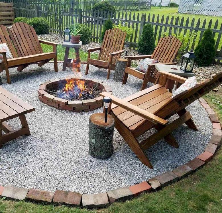 38 attractive DIY fire pit ideas for garden design look hot 32