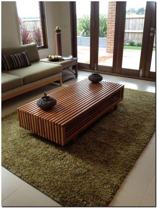 40+ stunning wood-metal coffee table 30