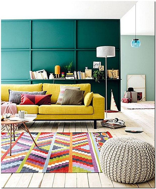 40 stunning yellow color ideas for your living room decor 14