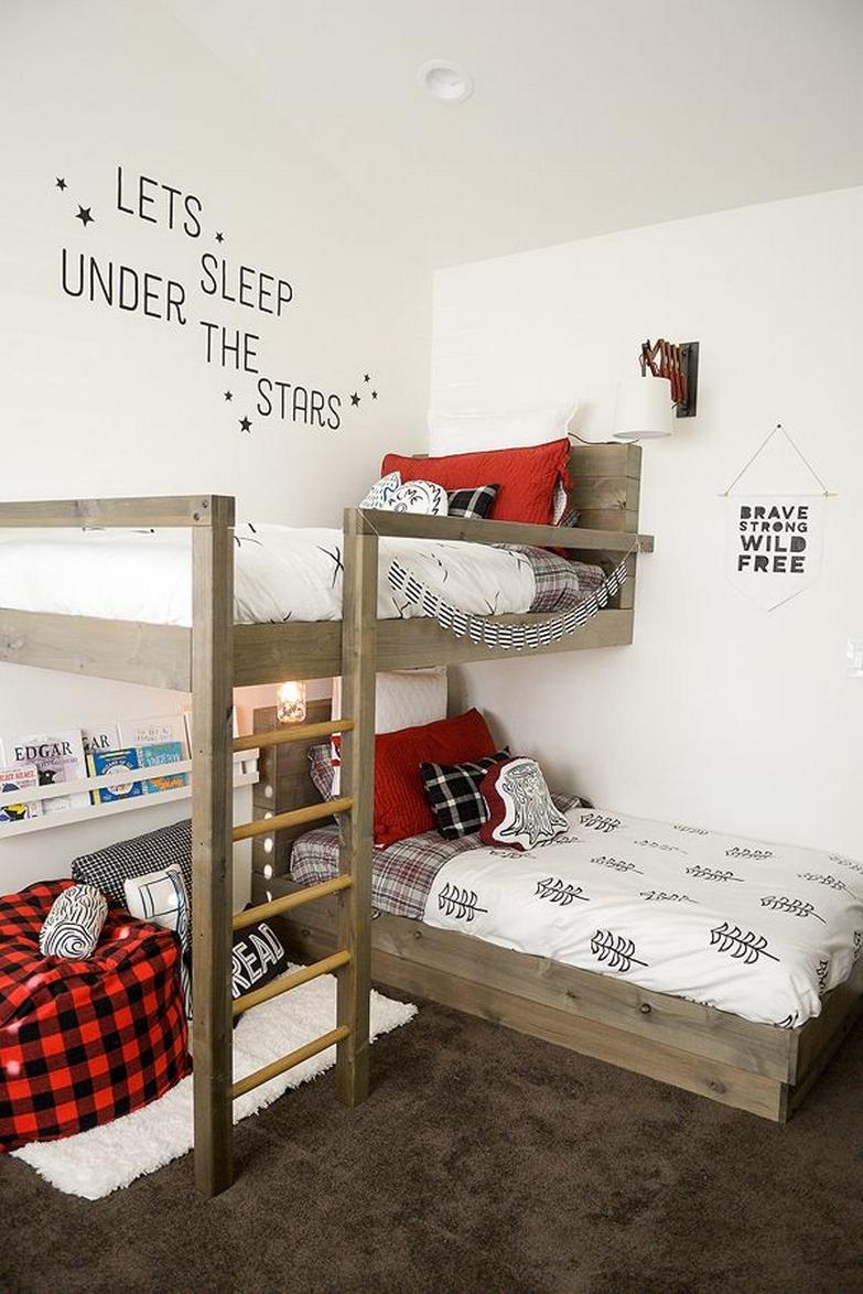 42 Most Popular Design Ideas For Bunk Beds For Kids 21