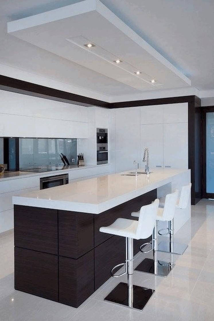 45 black kitchen design ideas that add simplicity and elegance 44