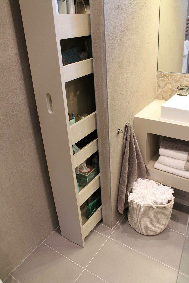 50 creative space-saving cabinets and storage ideas 7