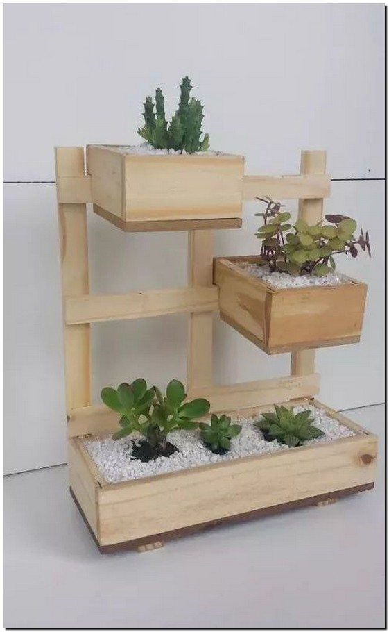 50 Easy DIY Woodworking Projects to Decorate Your Home 27